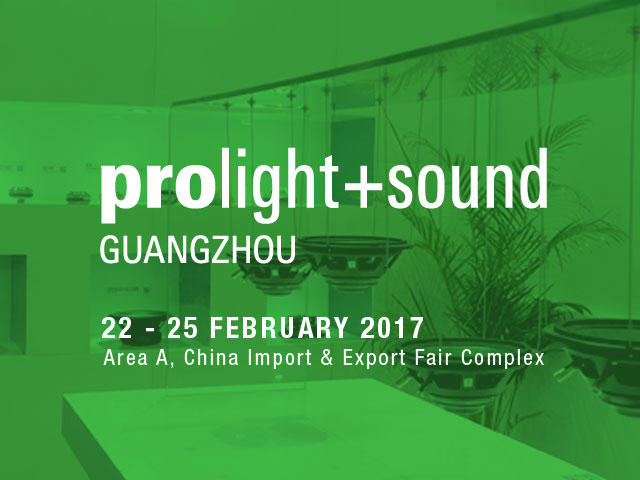 Join Fane at Prolight & Sound Guangzhou 2017