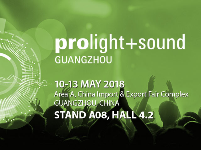 Fane at Prolight & Sound, Guangzhou 2018
