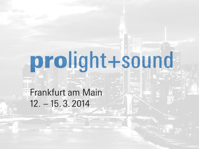 Fane Exhibiting at Frankfurt Prolight, March 2014